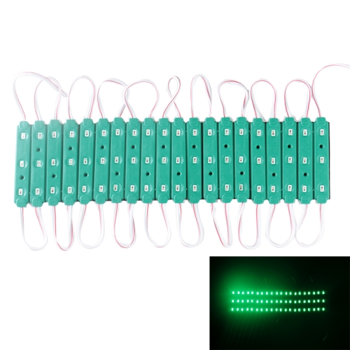 Buy 18W 1573LM 180 Degrees Green Light 20x3-LED SMD 5630 Module Light Strip, DC 12V, Green for $5.96 in SUNSKY store