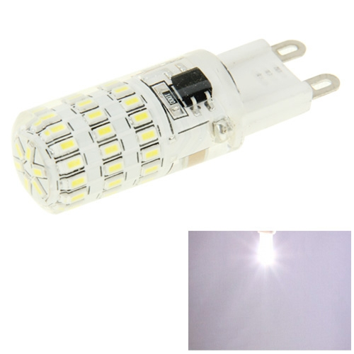 Buy G9 3W White Light 300LM 45 LED SMD 3014 Corn Light Bulb, AC 220V for $1.89 in SUNSKY store