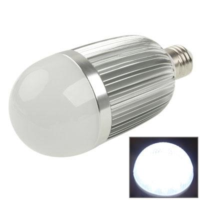 E27 15W Energy Saving LED White Light Ball Steep Light Bulb