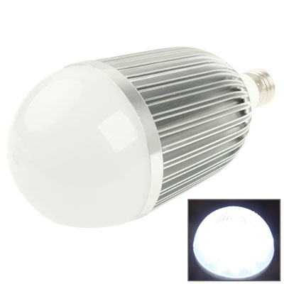 E27 12W Energy Saving LED White Light Ball Steep Light Bulb