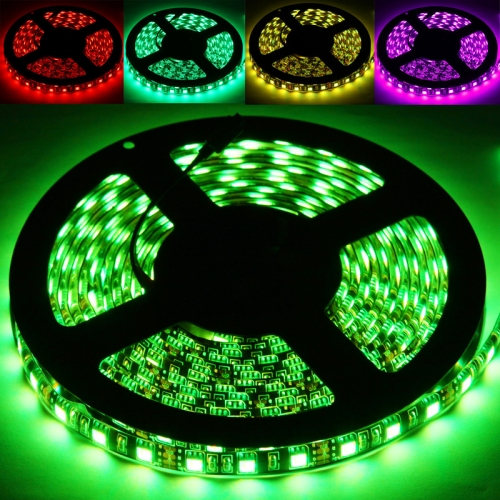 Buy Epoxy Waterproof RGB LED 5050 SMD Rope Light, 60 LED/M, Length: 5M for $7.10 in SUNSKY store