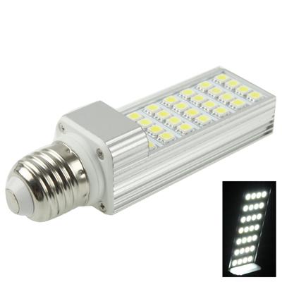 Buy E27 6W White 28 LED 5050 SMD LED Transverse Light Bulb, AC 85-265V for $5.17 in SUNSKY store