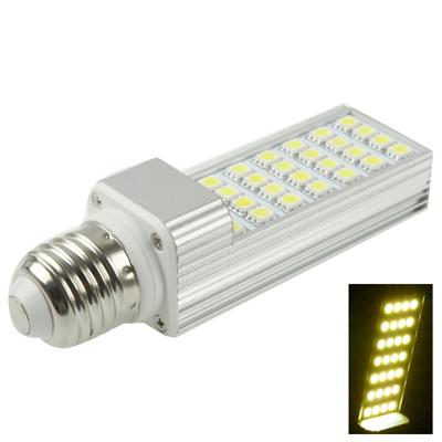 Buy E27 6W Warm White 28 LED 5050 SMD LED Transverse Light Bulb, AC 85-265V for $5.17 in SUNSKY store