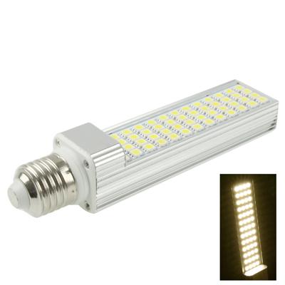 Buy E27 12W Warm White 52 LED 5050 SMD LED Transverse Light Bulb, AC 85-265V for $9.21 in SUNSKY store