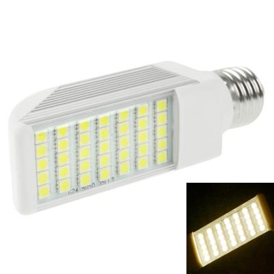 Buy E27 8W Warm White 35 LED 5050 SMD LED Transverse Light Bulb, AC 85V-265V for $7.56 in SUNSKY store