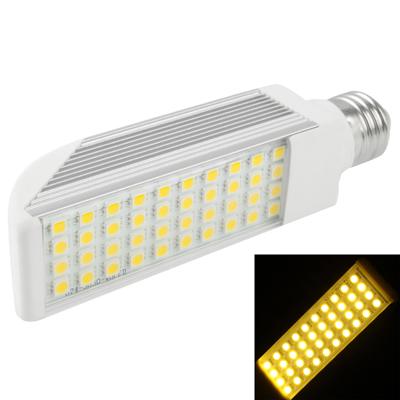 E27 10W Warm White 40 LED 5050 SMD LED Transverse Light Bulb, AC 85V-265V