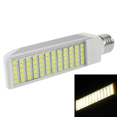 Buy E27 14W Warm White 60 LED 5050 SMD LED Transverse Light Bulb, AC 85V-265V for $9.44 in SUNSKY store