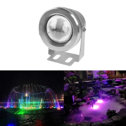 Buy 10W RGB LED Underwater Light with Remote Controller, DC 12V, Luminous Flux: 800-900lm for $6.36 in SUNSKY store
