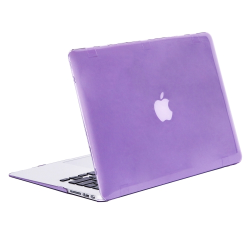 Buy Enkay Series Crystal Hard Protective Case for Apple Macbook Air 13.3 inch (A1369 / A1466), Purple for $3.70 in SUNSKY store