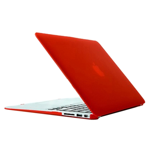 Buy Crystal Hard Protective Case for Apple Macbook Air 13.3 inch (A1369 / A1466), Red for $3.70 in SUNSKY store