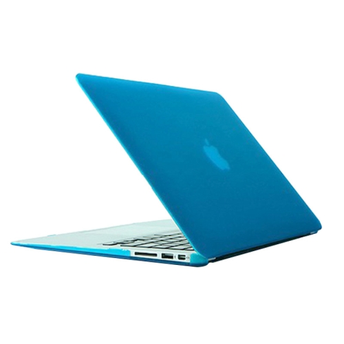 Buy Frosted Hard Plastic Protective Case for Macbook Air 13.3 inch (A1369 / A1466) (Baby Blue) for $4.72 in SUNSKY store