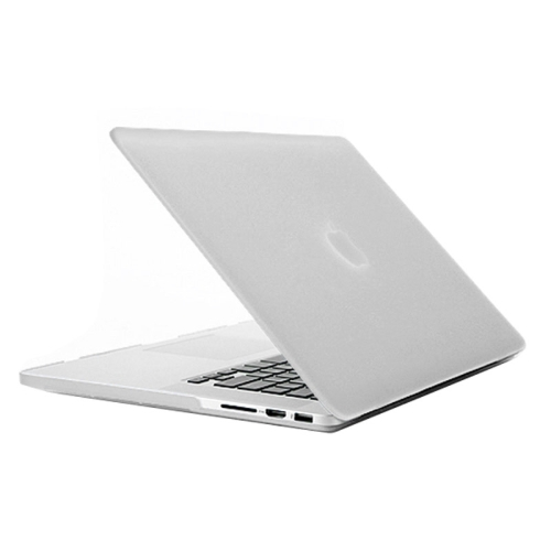 Buy Frosted Hard Protective Case for Macbook Pro Retina 15.4 inch A1398, Transparent for $4.92 in SUNSKY store