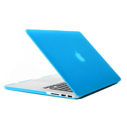 Buy Frosted Hard Protective Case for Macbook Pro Retina 15.4 inch A1398 (Baby Blue) for $4.92 in SUNSKY store
