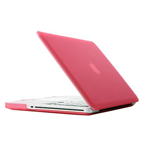 Buy Frosted Hard Protective Case for Macbook Pro 15.4 inch, A1286, Pink for $4.92 in SUNSKY store