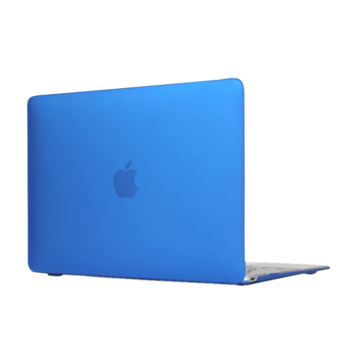 Buy Colored Translucent Frosted Hard Plastic Protective Case for Macbook 12 inch (Dark Blue) for $4.21 in SUNSKY store