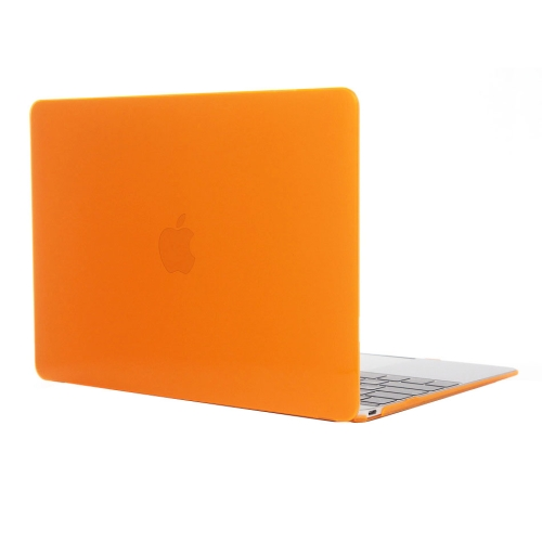 Buy Colored Transparent Crystal Hard Protective Case for Macbook 12 inch, Orange for $3.18 in SUNSKY store