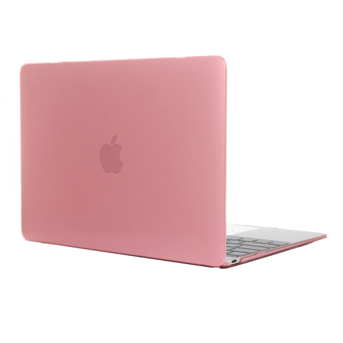 Buy Colored Transparent Crystal Hard Protective Case for Macbook 12 inch, Pink for $3.18 in SUNSKY store