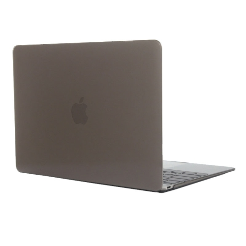 Buy Colored Transparent Crystal Hard Protective Case for Macbook 12 inch, Grey for $3.18 in SUNSKY store