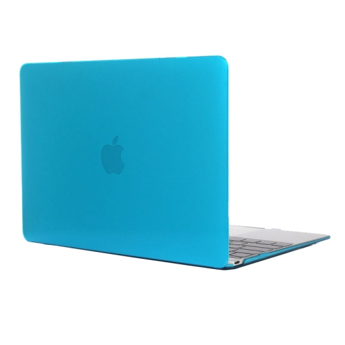 Buy Colored Transparent Crystal Hard Protective Case for Macbook 12 inch (Baby Blue) for $3.18 in SUNSKY store