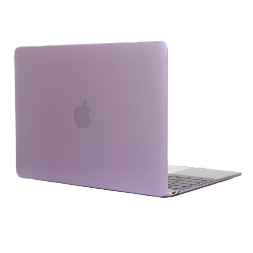 Buy Colored Transparent Crystal Hard Protective Case for Macbook 12 inch, Purple for $3.18 in SUNSKY store
