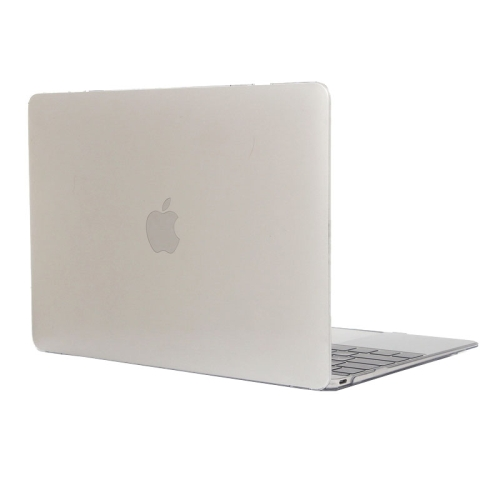 Buy Colored Transparent Crystal Hard Protective Case for Macbook 12 inch, White for $3.18 in SUNSKY store
