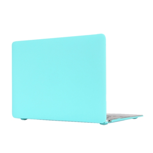 Buy Colored Frosted Hard Plastic Protective Case for Macbook 12 inch, Blue for $4.21 in SUNSKY store