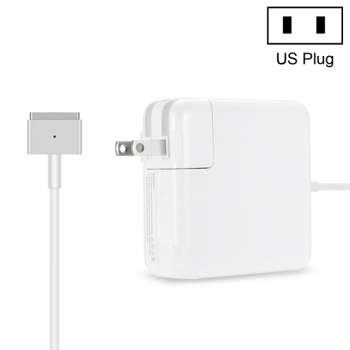 16.5V 3.65A 5pin A1435 60W MagSafe 2 Power Adapter for MacBook(White)