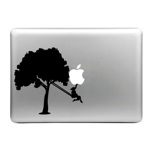 Buy Hat-Prince Smashing Apple Pattern Removable Decorative Skin Sticker for MacBook Air / Pro / Pro with Retina Display, Size: L for $2.74 in SUNSKY store