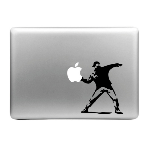 Buy Hat-Prince Threw the Apple Pattern Removable Decorative Skin Sticker for MacBook Air / Pro / Pro with Retina Display, Size: M for $2.77 in SUNSKY store