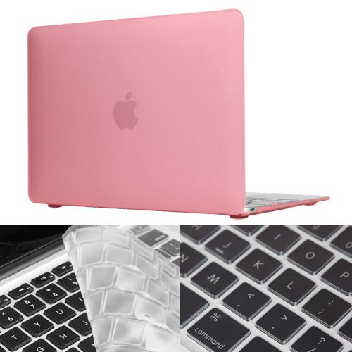 Buy ENKAY Hat-Prince 2 in 1 Frosted Hard Shell Plastic Protective Case with Keyboard Guard for Macbook 12 inch (US Version), Pink for $5.27 in SUNSKY store