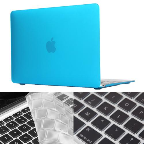 Buy ENKAY Hat-Prince 2 in 1 Frosted Hard Shell Plastic Protective Case with Keyboard Guard for Macbook 12 inch (US Version), Blue for $5.25 in SUNSKY store