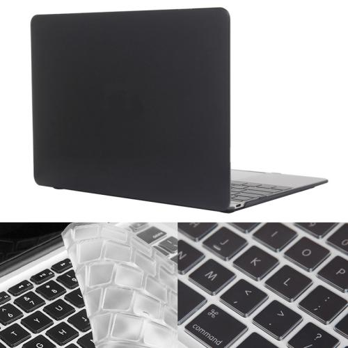 Buy ENKAY Hat-Prince 2 in 1 Crystal Hard Shell Plastic Protective Case with Keyboard Guard for Macbook 12 inch (US Version), Black for $4.58 in SUNSKY store