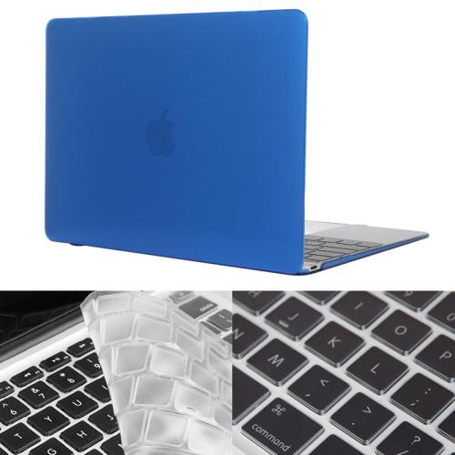 Buy ENKAY Hat-Prince 2 in 1 Crystal Hard Shell Plastic Protective Case with Keyboard Guard for Macbook 12 inch (US Version) (Dark Blue) for $4.58 in SUNSKY store