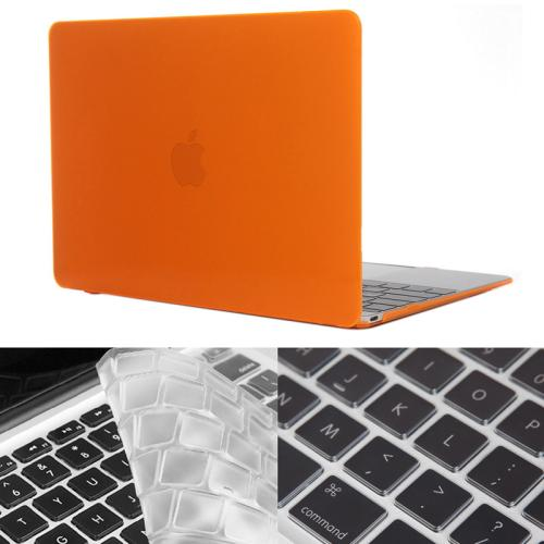 Buy ENKAY Hat-Prince 2 in 1 Crystal Hard Shell Plastic Protective Case with Keyboard Guard for Macbook 12 inch (US Version), Orange for $4.58 in SUNSKY store