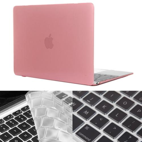 Buy ENKAY Hat-Prince 2 in 1 Crystal Hard Shell Plastic Protective Case with Keyboard Guard for Macbook 12 inch (US Version), Pink for $4.58 in SUNSKY store