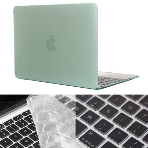 Buy ENKAY Hat-Prince 2 in 1 Crystal Hard Shell Plastic Protective Case with Keyboard Guard for Macbook 12 inch (US Version), Green for $4.58 in SUNSKY store
