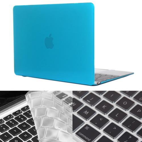 Buy ENKAY Hat-Prince 2 in 1 Crystal Hard Shell Plastic Protective Case with Keyboard Guard for Macbook 12 inch (US Version), Blue for $4.58 in SUNSKY store