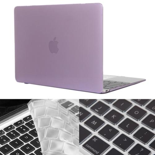 Buy ENKAY Hat-Prince 2 in 1 Crystal Hard Shell Plastic Protective Case with Keyboard Guard for Macbook 12 inch (US Version), Purple for $4.58 in SUNSKY store