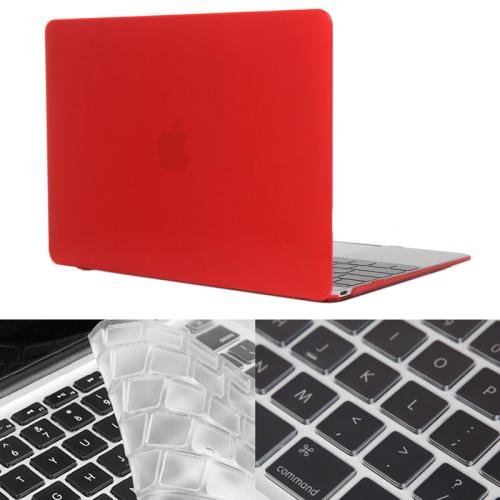 Buy ENKAY Hat-Prince 2 in 1 Crystal Hard Shell Plastic Protective Case with Keyboard Guard for Macbook 12 inch (US Version), Red for $4.58 in SUNSKY store