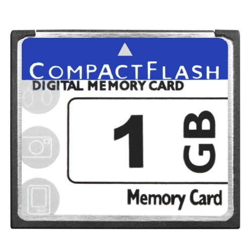 Buy 1GB Compact Flash Digital Memory Card (100% Real Capacity) for $7.33 in SUNSKY store