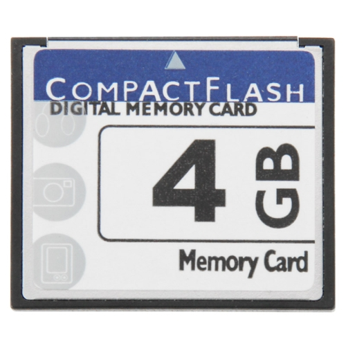 Buy 4GB Compact Flash Digital Memory Card (100% Real Capacity) for $8.31 in SUNSKY store