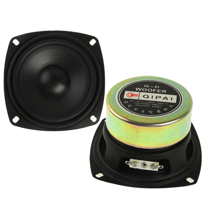 3.5 inch 30W Midrange Speaker, Impedance: 4ohm, Black