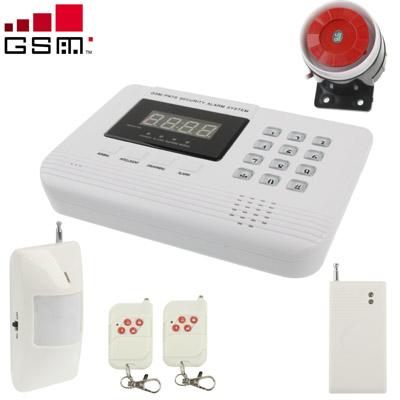 Buy GSM PSTN Dual Network Burglar Alarm System, Network: GSM 900 / 1800 / 1900MHZ, White for $42.55 in SUNSKY store