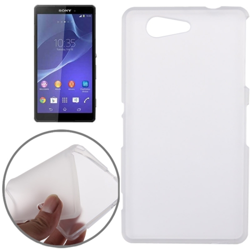 Double Frosted TPU Case for Sony Xperia Z3 Compact D5803 / D5833, White