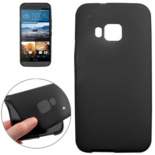 Double Sided Frosted TPU Case for HTC One M9, Black