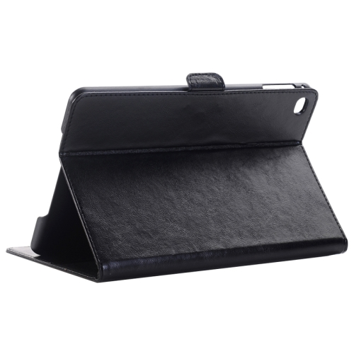 Buy Crazy Horse Texture Horizontal Flip Solid Color Leather Case with Holder & Card Slots & Wallet for iPad mini 4, Black for $4.16 in SUNSKY store