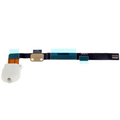 OEM Version Audio Jack Ribbon Flex Cable for iPad mini 1 / 2 / 3 (White)