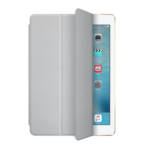 Buy Single Side Polyurethane Smart Cover with 3-Folding Holder for iPad mini / mini 2 Retina / 3, Grey for $3.71 in SUNSKY store