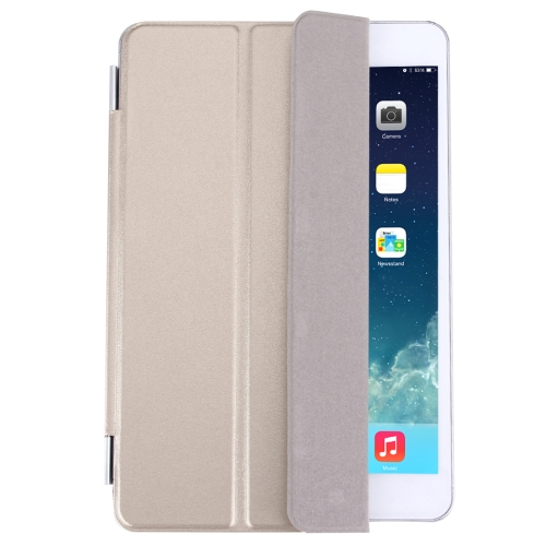 Buy Single Side Polyurethane Smart Cover with 3-Folding Holder for iPad mini / mini 2 Retina / 3, Gold for $3.71 in SUNSKY store