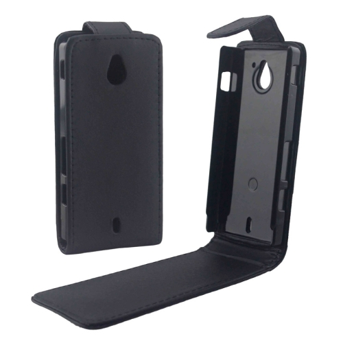 Buy Vertical Flip Leather Case for Sony MT27i / Xperia Sola, Black for $1.49 in SUNSKY store